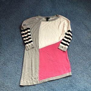 White House/Black Market Asymmetrical Sweater. M